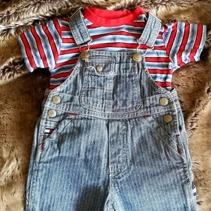 Baby Boys Tommy Hilfiger Pant Overalls